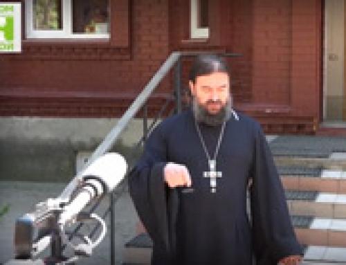 Протоиерей Андрей Ткачев впервые в гостях у дома трудолюбия Ной! Часть 1
