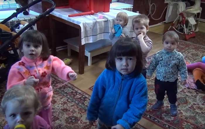 Дети в Заозеорном, Ной